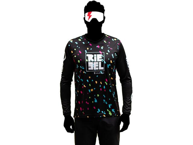 Riesel Design bang:er Longsleeve Jersey, zwart